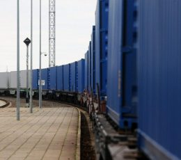 Global Ocean Link has tested successfully container train service from Ukraine to the Netherlands