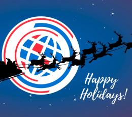 С наступающим Новым годом и Рождеством, дорогие наши клиенты и партнёры!