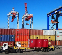 Updated list of routes for container trucks without special permits