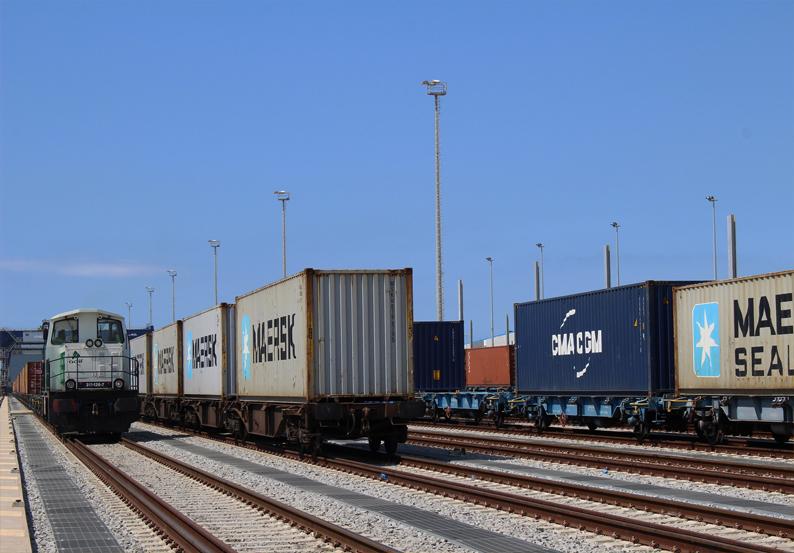 Klaipeda container train